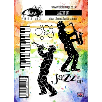 Visible Image JAZZ IT UP Clear Stamp Set VIS-JAZ-01