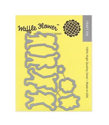 Waffle Flower HELLO Die Set 310201 Preview Image