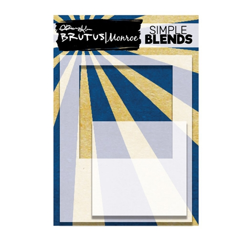 Brutus Monroe SIMPLE BLEND SQUARE Stencil and Mask bru9561 Preview Image