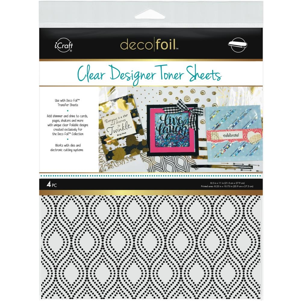Therm O Web GROOVY Clear Deco Foil Designer Toner Sheets 5517 zoom image