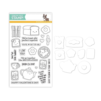 Simon Says Stamps And Dies BREAKFAST BUDDIES set315bb
