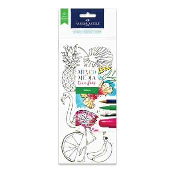 Faber-Castell MIXED MEDIA TRANSFERS TROPICAL 770753*