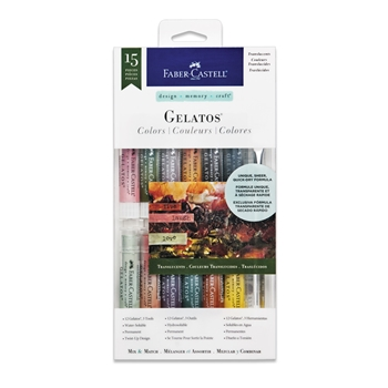 Faber-Castell TRANSLUCENTS Gelatos Designer Colors 770176