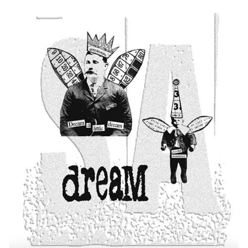 Tim Holtz Cling Rubber Stamps WINGED THINGS 2 Two CMS025 Preview Image
