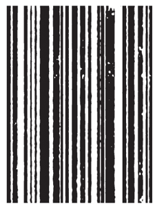 Tim Holtz Rubber Stamp MINI STRIPES p4-1302 Stampers Anonymous