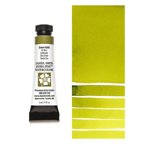 Daniel Smith GREEN GOLD 5ML Extra Fine Watercolor 284610139 zoom image