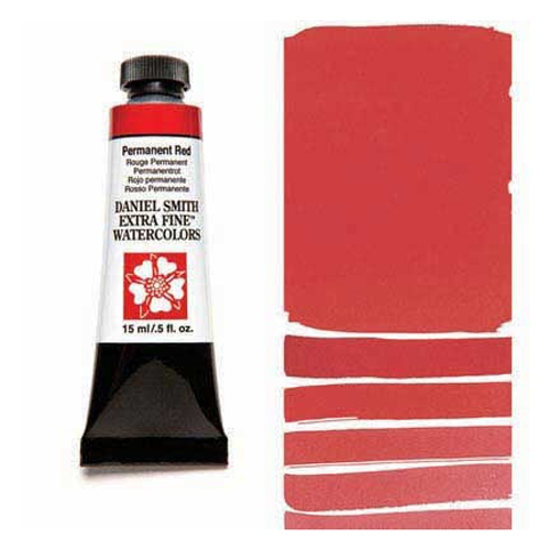 Daniel Smith PERMANENT RED 15ML Extra Fine Watercolor 284600072 Preview Image