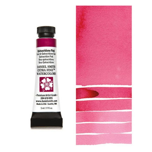 Daniel Smith QUINACRIDONE PINK 5ML Extra Fine Watercolor 284610095 Preview Image