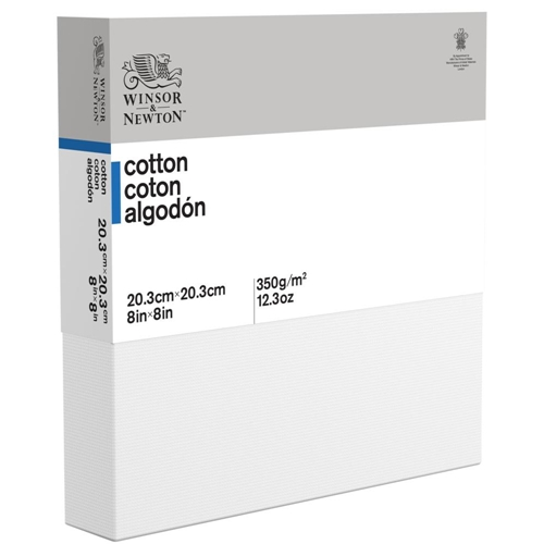 Winsor Newton 8x8 ARTIST CANVAS DEEP EDGE Stretched Cotton 6201123 Preview Image