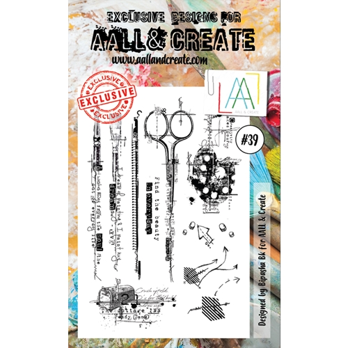 AALL & Create A6 STAMP 39 Clear aal00039 Preview Image