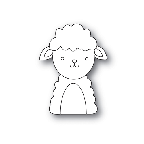 Simon Says Stamp PICTURE BOOK LAMB Wafer Dies s558 Best Days Preview Image