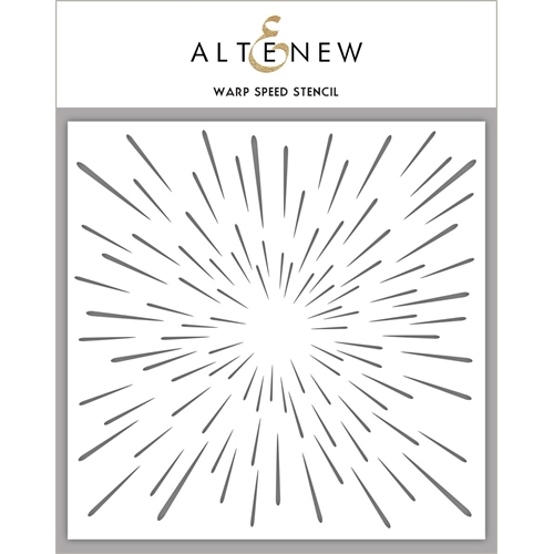Altenew WARP SPEED Stencil ALT2195 Preview Image