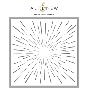 Altenew WARP SPEED Stencil ALT2195