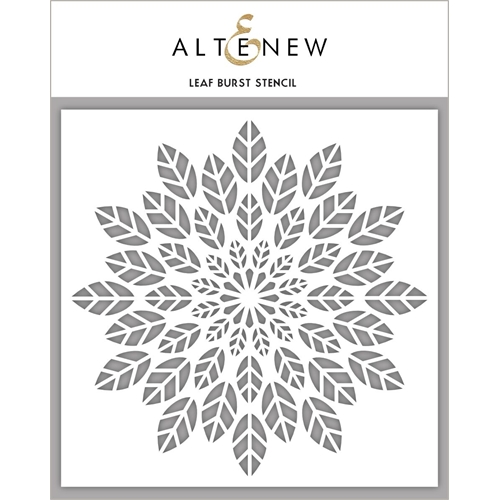 Altenew LEAF BURST Stencil ALT2192 Preview Image