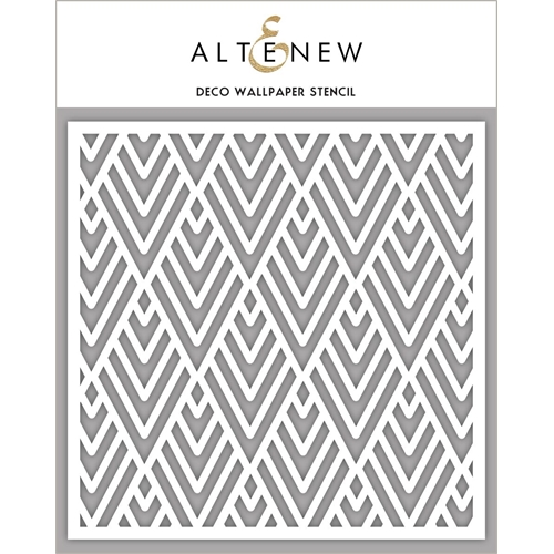 Altenew DECO WALLPAPER Stencil ALT2191 Preview Image