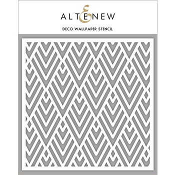 Altenew DECO WALLPAPER Stencil ALT2191