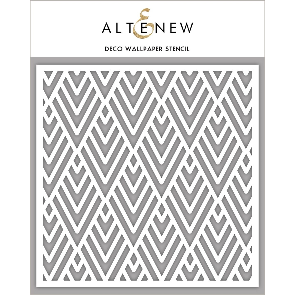 Altenew DECO WALLPAPER Stencil ALT2191 zoom image
