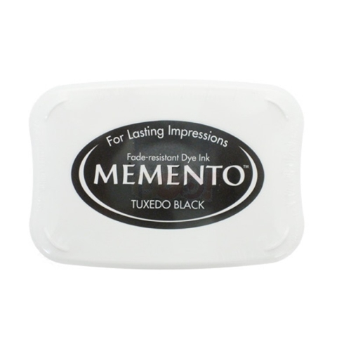 Memento TUXEDO BLACK INK PAD Full Size me-900 Preview Image