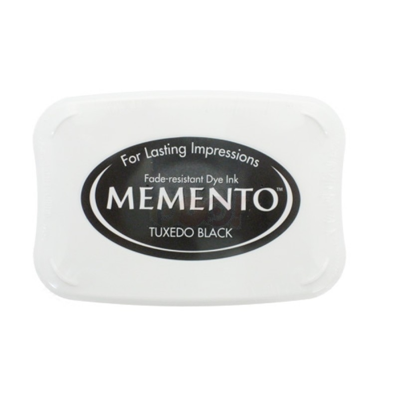 Memento TUXEDO BLACK INK PAD Full Size me-900 zoom image