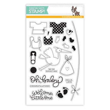Simon Says Clear Stamps OH BABY sss101815 Best Days