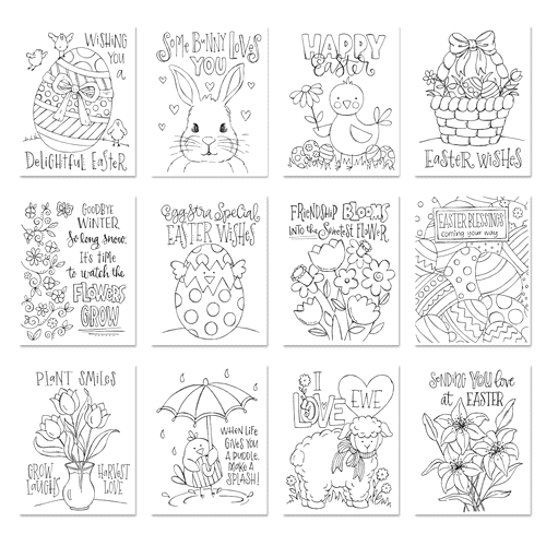 Simon Says Stamp Suzy's EASTER WISHES Watercolor Prints swew18 Best Days Preview Image