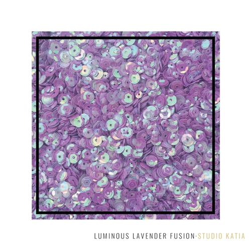 Studio Katia LUMINOUS LAVENDER Fusion Sequins sk2886 Preview Image