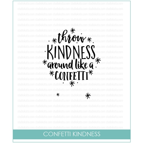 Studio Katia CONFETTI KINDNESS Clear Stamps stks047 Preview Image