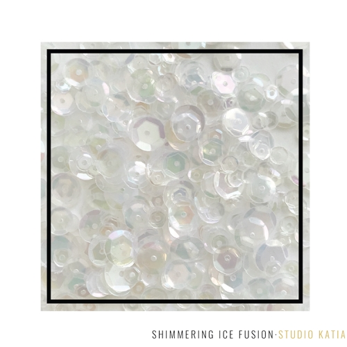 Studio Katia SHIMMERING ICE Fusion Sequins sk2872 Preview Image