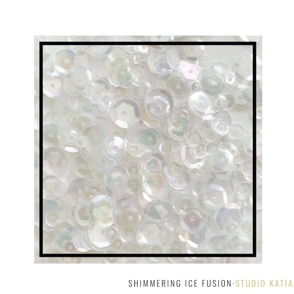 Studio Katia SHIMMERING ICE Fusion Sequins sk2872 zoom image