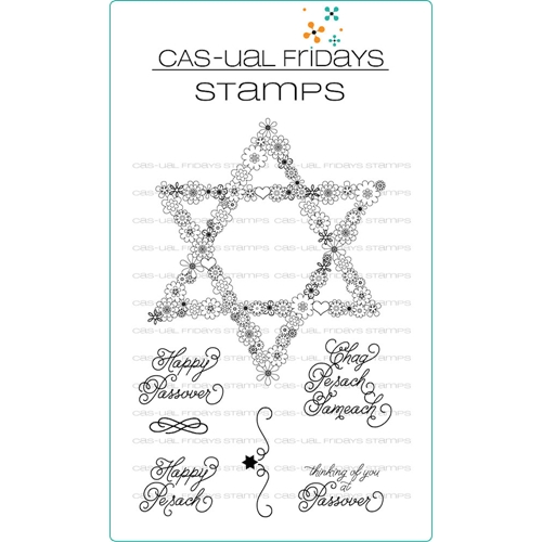 CAS-ual Fridays PRETTY PASSOVER Clear Stamps CFS1812 Preview Image
