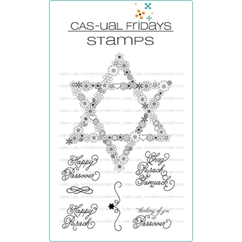 CAS-ual Fridays PRETTY PASSOVER Clear Stamps CFS1812