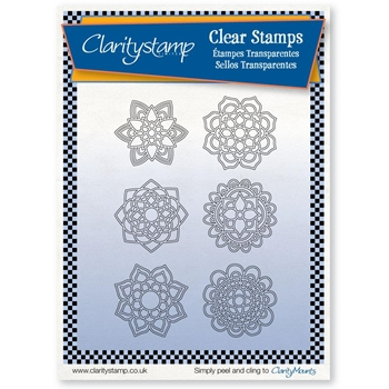 Claritystamp MANDALAS Clear Stamps and Mask stapa10584a5*