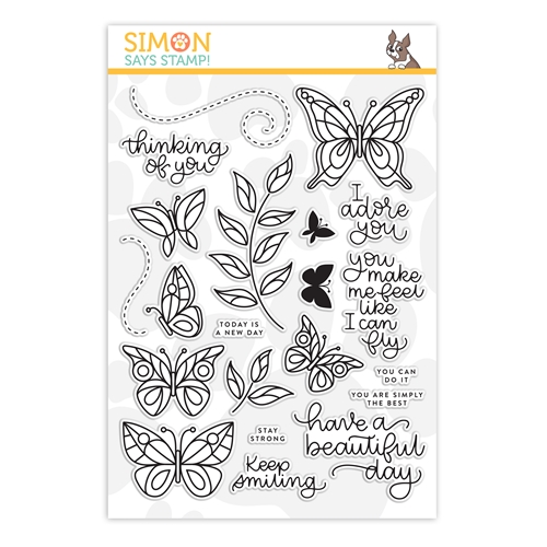 Simon Says Clear Stamps BEAUTIFUL DAY sss101824 Preview Image