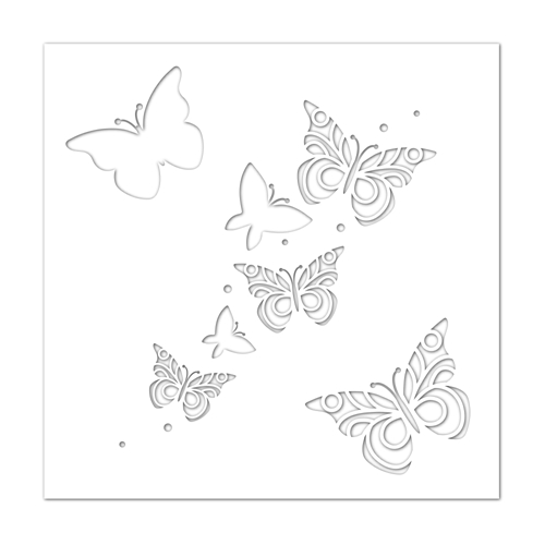 Simon Says Stamp Stencil BUTTERFLIES ssst121419 Preview Image