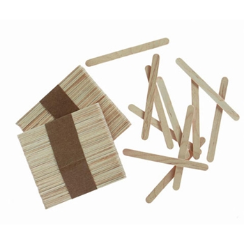 Darice WOOD CRAFT STICKS NATURAL 150 Pack 915081*