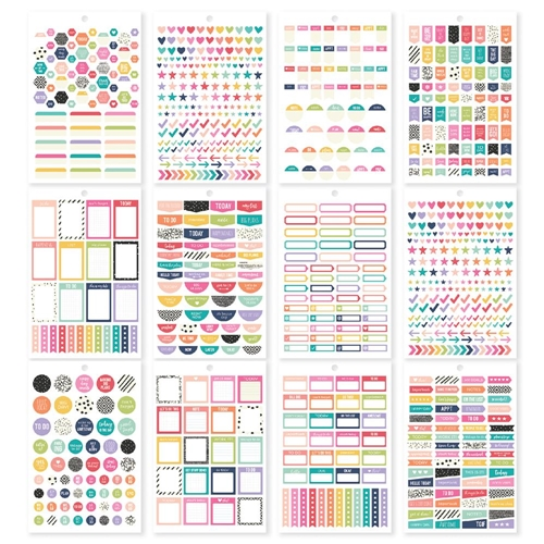Simple Stories PLANNER BASICS Carpe Diem A5 Sticker Tablet 10182* Preview Image