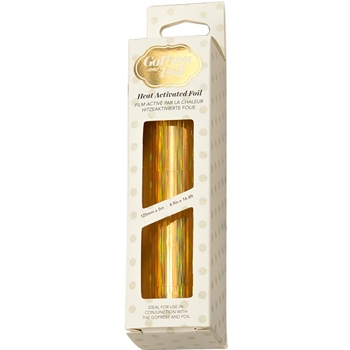 Couture Creations IRIDESCENT PILLARS GOLD Heat Activated Foil co726042