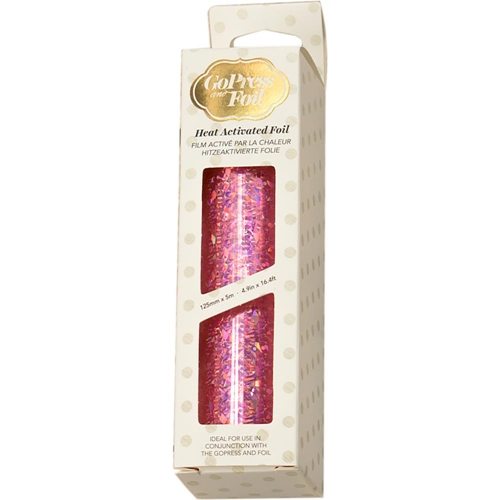 Couture Creations IRIDESCENT FLAKES PINK Heat Activated Foil co726048 Preview Image