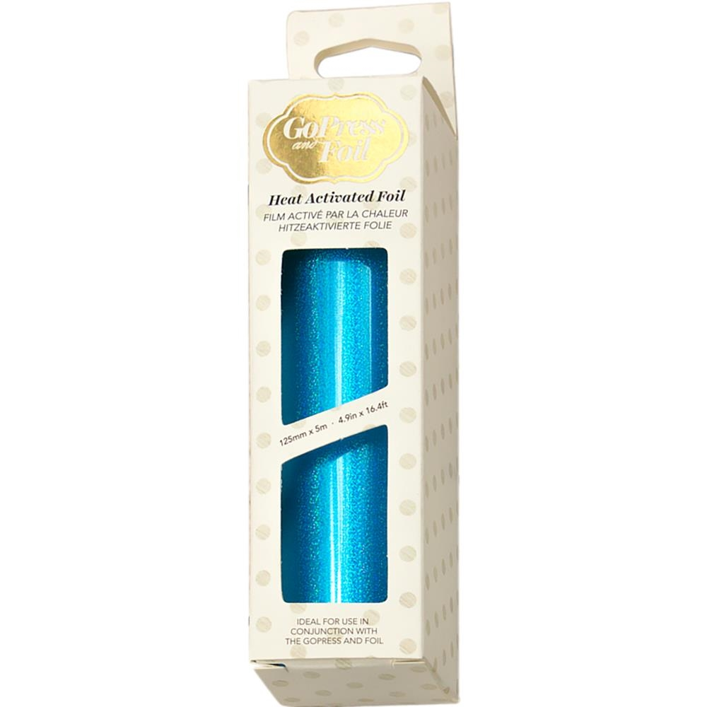 Couture Creations IRIDESCENT SPARKS CYAN Heat Activated Foil co726049 zoom image