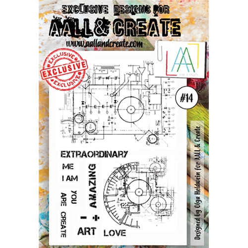 AALL & Create A6 STAMP 14 Clear aal00014* Preview Image