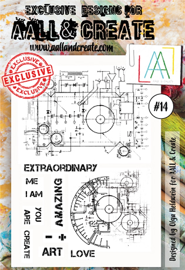 AALL & Create A6 STAMP 14 Clear aal00014* zoom image