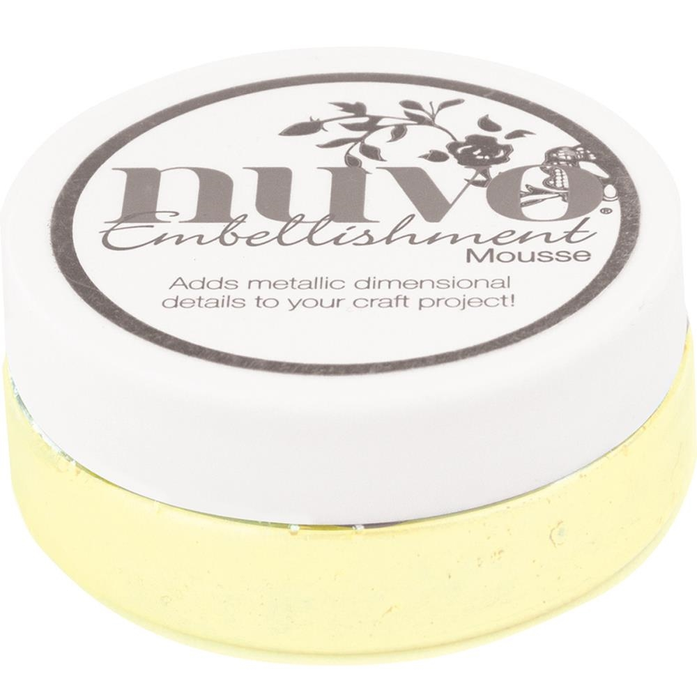 Tonic CUSTARD CREAM Nuvo Embellishment Mousse 827n zoom image