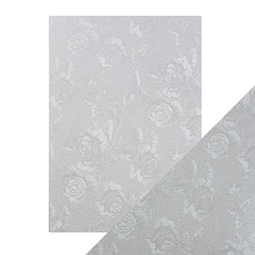 Tonic STEEL TOILE Luxury Embossed A4 Paper Pack 9820e * Preview Image