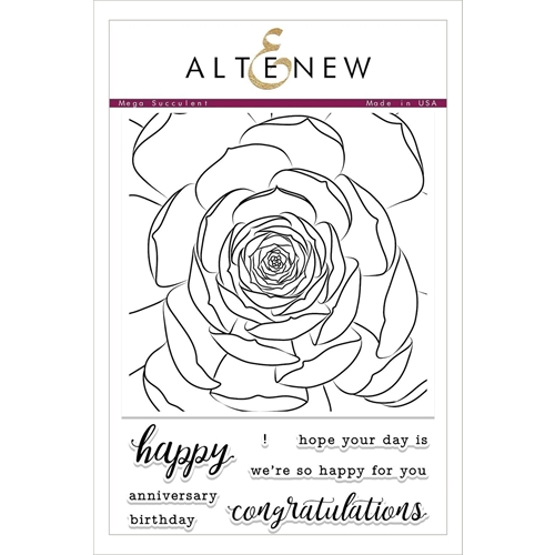 Altenew MEGA SUCCULENT Clear Stamp Set ALT2096 Preview Image