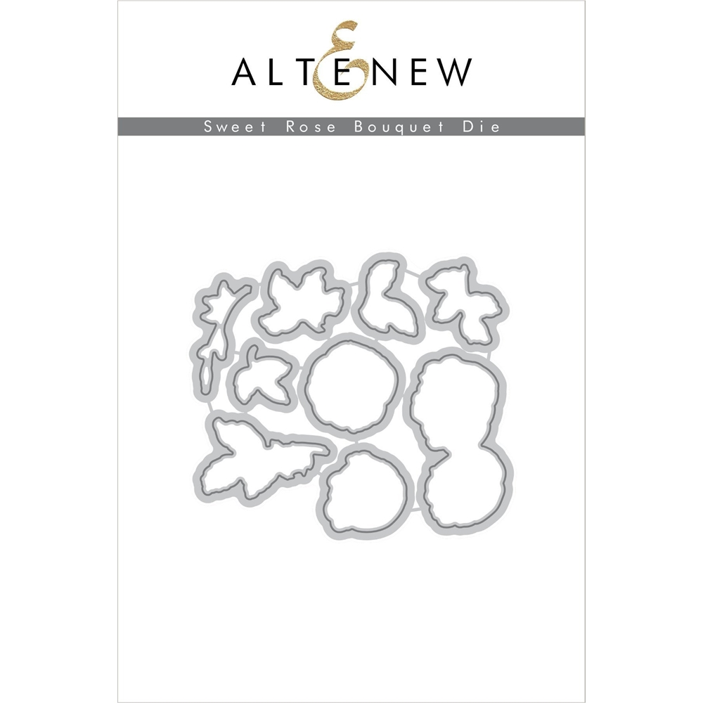 Altenew SWEET ROSE BOUQUET Die Set ALT2100 zoom image