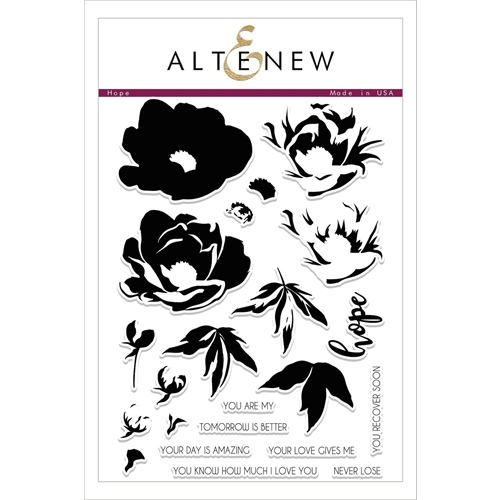 Altenew HOPE Clear Stamp Set ALT2093 Preview Image