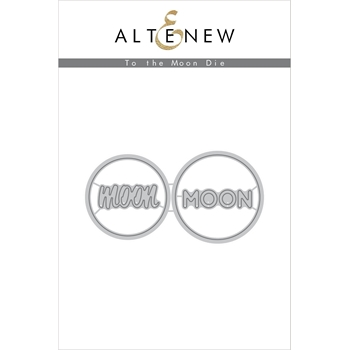Altenew TO THE MOON Die Set ALT2105