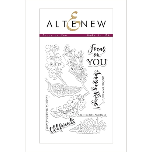 Altenew FOCUS ON YOU Clear Stamp Set ALT2090 Preview Image