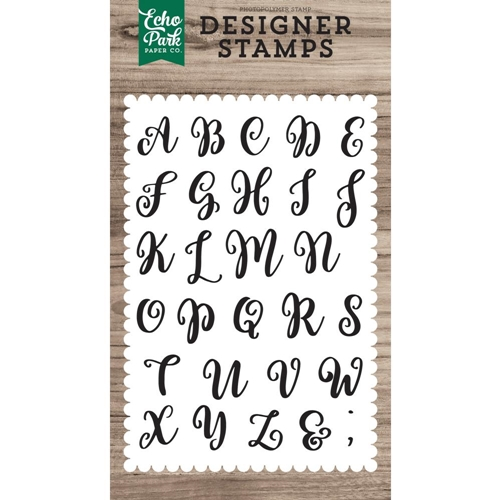 Echo Park AVERY UPPERCASE Clear Stamps epstamp171* Preview Image