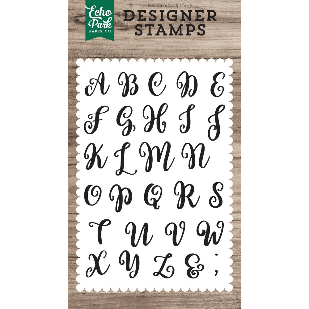 Echo Park AVERY UPPERCASE Clear Stamps epstamp171* zoom image